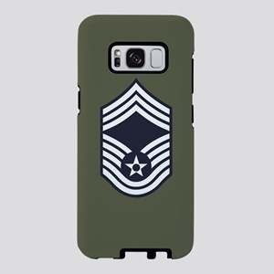 USAF: CMSgt E-9 (Green) Samsung Galaxy S8 Case