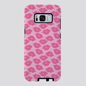 Girly Pink Lips Samsung Galaxy S8 Case