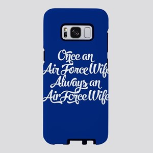 Once An Air Force Wife Samsung Galaxy S8 Case