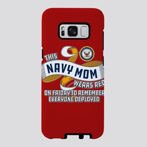 Navy Mom Wears Red on Frida Samsung Galaxy S8 Case