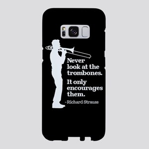 Never Look At The Trombones Samsung Galaxy S8 Case
