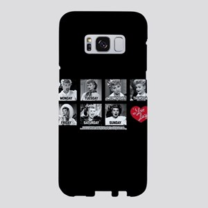 Lucy Days of the Week Samsung Galaxy S8 Case