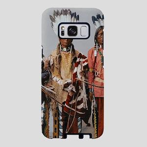Native American apache worr Samsung Galaxy S8 Case