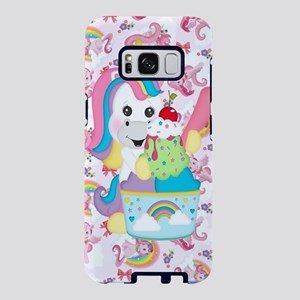 Unicorn Loves Ice Cream Samsung Galaxy S8 Case