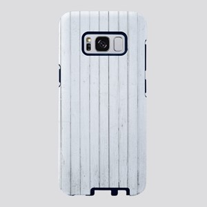 french country white stripe Samsung Galaxy S8 Case
