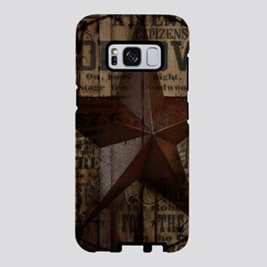 primitive texas lone star Samsung Galaxy S8 Case