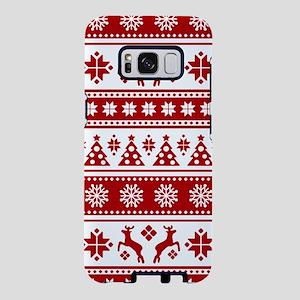 Christmas Holiday Nordic Pa Samsung Galaxy S8 Case