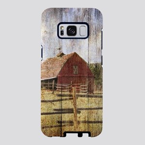 western country red barn Samsung Galaxy S8 Case