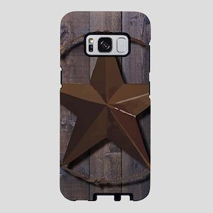 western barnwood texas star Samsung Galaxy S8 Case