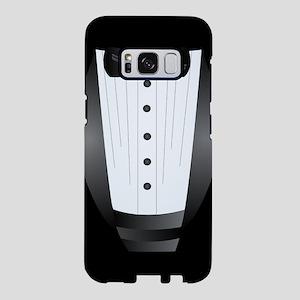 bowtie black tuxedo bachelo Samsung Galaxy S8 Case