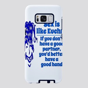 Sex Is Like Euchre Samsung Galaxy S8 Case