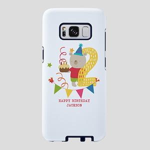 Happy 2nd Birthday Personalized Samsung Galaxy S8