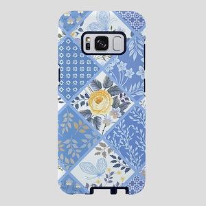 Patchwork Floral Samsung Galaxy S8 Case