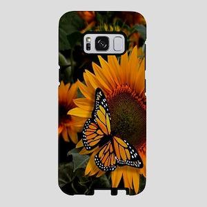 Sunflower Radiance Monarch Samsung Galaxy S8 Case