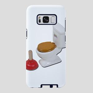 ToiletLargePlunger051411.pn Samsung Galaxy S8 Case