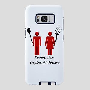 Revolution Begins At Home Samsung Galaxy S8 Case