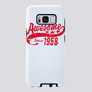 Awesome Since 1958 60 Years Samsung Galaxy S8 Case