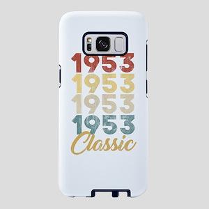 Vintage Retro Born In 1953 Samsung Galaxy S8 Case