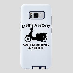 Life's A Hoot When Ridi Samsung Galaxy S8 Case