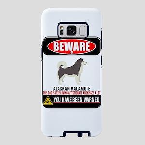 Beware Of Alaskan Malamute Samsung Galaxy S8 Case