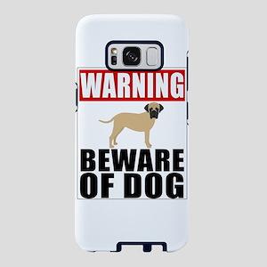 Warning Bullmastiff Beware Samsung Galaxy S8 Case