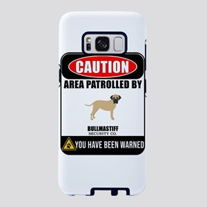 Caution Area Patrolled By B Samsung Galaxy S8 Case