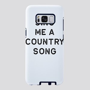 Music Shirt Sing Me A Count Samsung Galaxy S8 Case