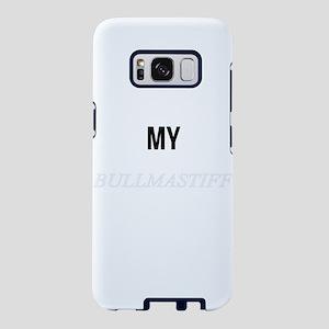 My Bullmastiff Makes Me Hap Samsung Galaxy S8 Case