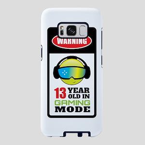 Warning 13 Year Old In Gami Samsung Galaxy S8 Case