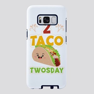 Tacos 2 Taco Twosday Cute B Samsung Galaxy S8 Case