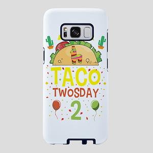 Tacos Taco Twosday 2 Birthd Samsung Galaxy S8 Case