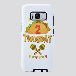 Tacos Maracas 2 Twosday Bir Samsung Galaxy S8 Case