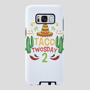 Tacos Cactus Taco Twosday 2 Samsung Galaxy S8 Case