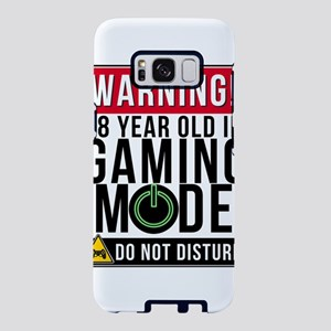 Warning 18 Year Old In Gami Samsung Galaxy S8 Case