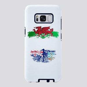 Welsh Grown With Montserrat Samsung Galaxy S8 Case