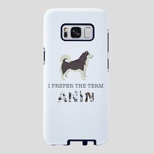 Crazy Alaskan Malamute Dog Samsung Galaxy S8 Case