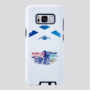 Scottish Grown With Montser Samsung Galaxy S8 Case