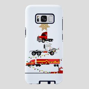 Christmas Trucker Tree Truc Samsung Galaxy S8 Case