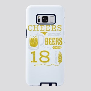 Cheers and Beers 18th Birth Samsung Galaxy S8 Case