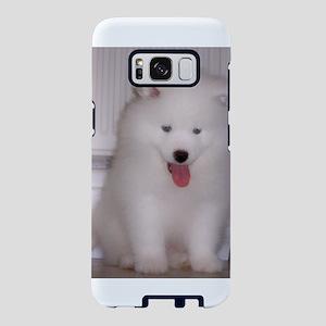 puppy samoyed Samsung Galaxy S8 Case