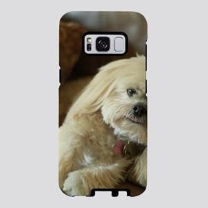 Koko the blond lhasa apso o Samsung Galaxy S8 Case