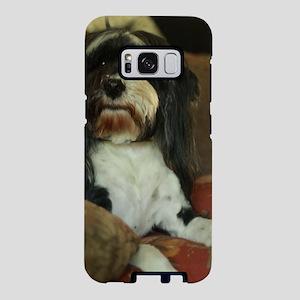Konnor black and white Tibe Samsung Galaxy S8 Case
