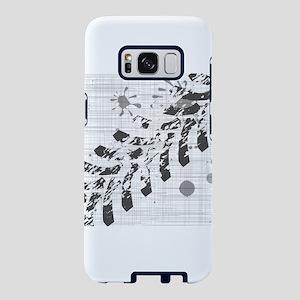 Grunge Tyre Marks Samsung Galaxy S8 Case