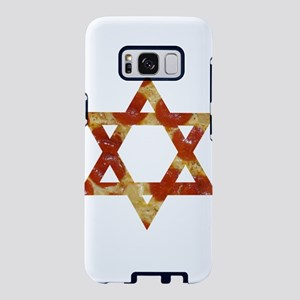 pizza star of david Samsung Galaxy S8 Case
