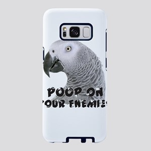 Funny African Grey Parrot P Samsung Galaxy S8 Case