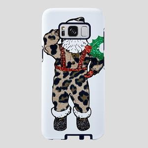 african leopard santa claus Samsung Galaxy S8 Case