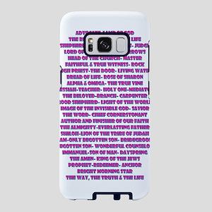 Titles of Jesus Christ Samsung Galaxy S8 Case