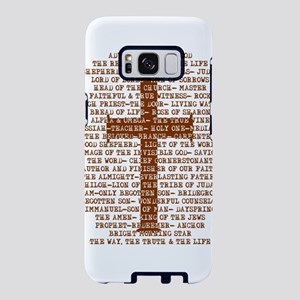 Names of Jesus with Cross Samsung Galaxy S8 Case