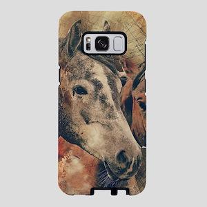 Horses Artistic Watercolor Samsung Galaxy S8 Case