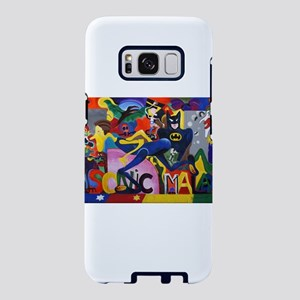 Colorful Sonic Man Graffiti Samsung Galaxy S8 Case
